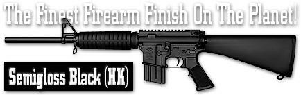 Оружейное покрытие DuraCoat - Semigloss Black (HK)