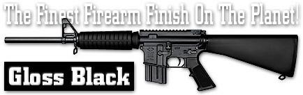 Оружейное покрытие DuraCoat - Gloss Black. Глянцевый черный.