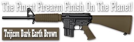 Оружейное покрытие DuraCoat - Trijicon Dark Earth Brown