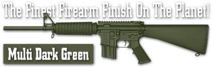 Оружейное покрытие DuraCoat - Multi Dark Green