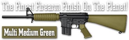 Оружейное покрытие DuraCoat - Multi Medium Green