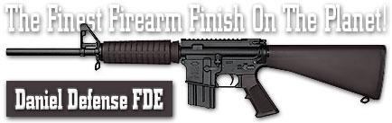Оружейное покрытие DuraCoat - Daniel Defense FDE