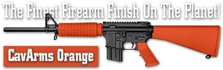 Оружейное покрытие DuraCoat - CavArms Orange