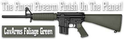 Оружейное покрытие DuraCoat - CavArms Foliage Green