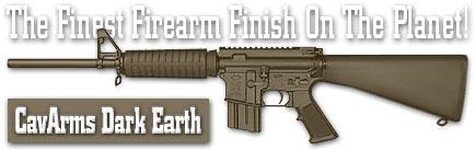 Оружейное покрытие DuraCoat - CavArms Dark Earth