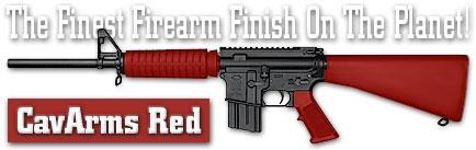 Оружейное покрытие DuraCoat - CavArms Red