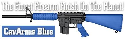 Оружейное покрытие DuraCoat - CavArms Blue