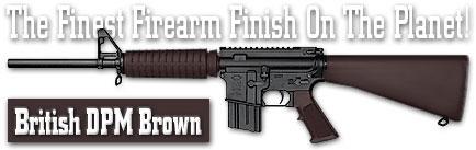 Оружейное покрытие DuraCoat - British DPM Brown