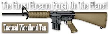 Оружейное покрытие DuraCoat - Tactical Woodland Tan