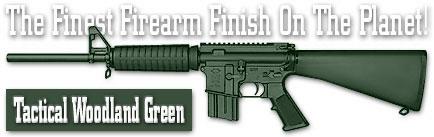Оружейное покрытие DuraCoat - Tactical Woodland Green