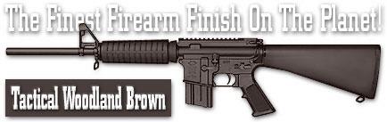 Оружейное покрытие DuraCoat - Tactical Woodland Brown
