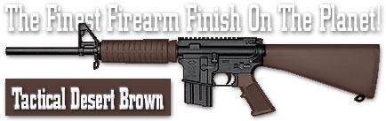 Оружейное покрытие DuraCoat - Tactical Desert Brown