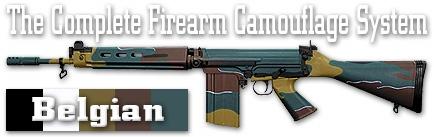 Камуфляж оружия Duracoat Belgian