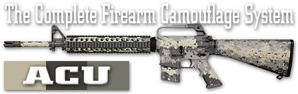 Камуфляж оружия Duracoat ACU
