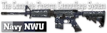 Камуфляж оружия Duracoat Navy NWU