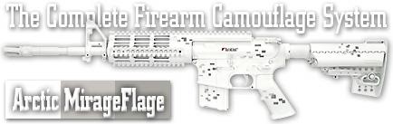 Камуфляж оружия Duracoat Arctic MirageFlage