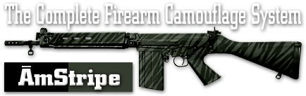 Камуфляж оружия Duracoat AmStripe