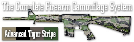 Камуфляж оружия Duracoat Advanced Tiger Stripe