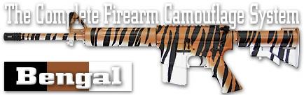Камуфляж оружия Duracoat Bengal CamoPak