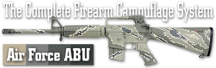Камуфляж оружия Duracoat Air Force ABU