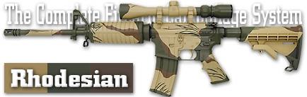 Камуфляж оружия Duracoat Rhodesian
