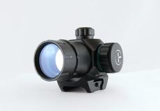 Коллиматор Target Optic 1х22М закрытого типа на Weaver, зелёная/красная точка