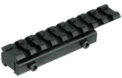 Адаптер Leapers UTG WEAVER для установки на призму 11-12 мм, 9 слотов, 100 мм