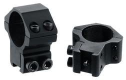 Кольца Leapers Accushot 25,4 мм для установки на оружие с призмой 10-12 мм, STM, средние