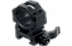 Кольца Leapers UTG 25,4 мм быстросъемные на Picatinny с рычажным зажимом, средние