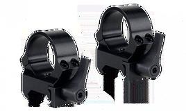 Кольца быстросъемные - рычаг QRW на Weaver 30 мм низкие матовые