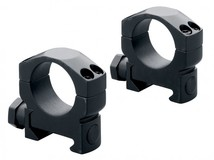 Кольца стальные Mark 4 на Weaver 30 мм средние, матовые, винтовой зажим