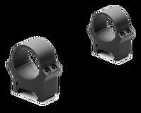 Кольца небыстросъемные PRW 26мм. на Weaver/Picatinny, низкие, матовые, металл, 158гр