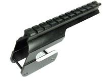 Кронштейн Weaver на МР-155 для ствольной коробки, 15 шагов, возможность стрельбы с открытого прицела, алюминиевый сплав, цвет черный