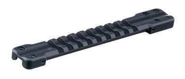 Основание Weaver для установки на вентилируемую планку гладкоствольных ружей. Ширина  7,0-8,1mm