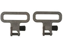 Uncle Mike`s - Антабки быстросъёмные без хомута, сталь,  ширина ремня 3,2 см