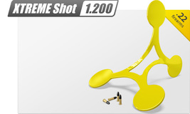 Поворотная шагающая мишень Flip Target 1200. Огнестрельное оружие