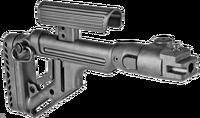 Складной приклад для АКМ, Сайга и модификаций UAS-AK P, Fab Defense