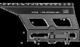 Кронштейн на Тигр, СВД для оптического прицела SVDM, Fab Defense