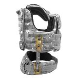 Слоты на MOLLE жесткого адаптера разгрузочного жилета для скрепления с поясом STKSS Crye Precision