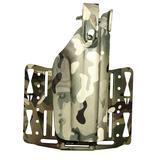 Тактическая пластиковая кобура для пистолета с фонарём WRS Level II Duty Holster w/Tac-light Blade-Tech