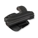 Кобура пластиковая быстросъемная с механизмом фиксации и фиксированным углом наклона для пистолета Ярыгина
