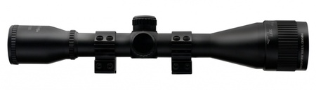Прицел Nikko Stirling серии MOUNTMASTER 4x40 AO, halfmil-dot, без подсветки, 2 кольца 11мм