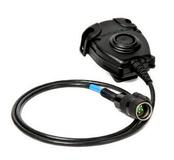 Кнопка PTT (Press to Talk) для активных наушников (Peltor Comtac, Comtac II, ACH, MSA Sordin Ranger Headsets) Peltor