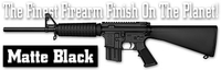 Оружейное покрытие DuraCoat - Matte Black. Матовый черный