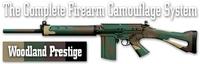 Камуфляж оружия Duracoat Woodland Prestige