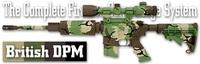 Камуфляж оружия Duracoat British DPM