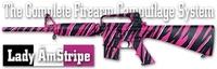 Камуфляж оружия Duracoat Lady AmStripe